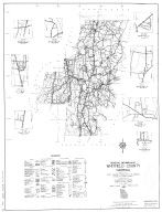 General Highway Map, Whitfield County, Georgia. 1953.