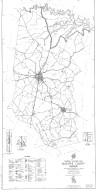 General Highway Map, McDuffie County, Georgia. 1953.