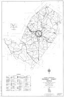 General Highway Map, Rockdale County, Georgia. 1953.
