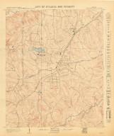City of Atlanta and Vicinity: Sheet 53