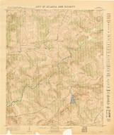 City of Atlanta and Vicinity: Sheet 54