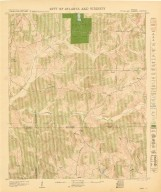 City of Atlanta and Vicinity: Sheet 76