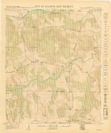 City of Atlanta and Vicinity: Sheet 80