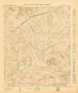 City of Atlanta and Vicinity: Sheet 84