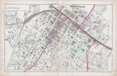 Plate A: Parts of Wards 1,2,3,4 & 5: Atlanta