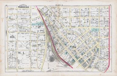 Plate D: Parts of Wards 1 & 5: Atlanta
