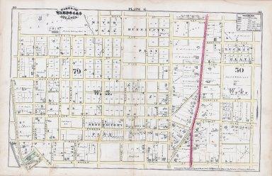 Plate G: Parts of Wards 4 & 5: Atlanta
