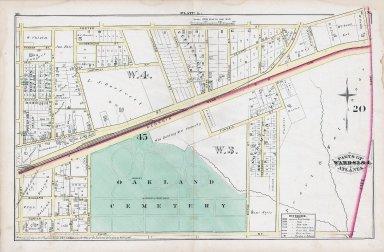 Plate L: Parts of Wards 3 & 4, Atlanta