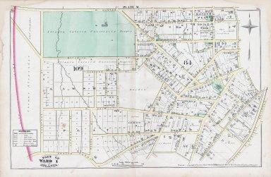 Plate M: Part of Ward 1, Atlanta