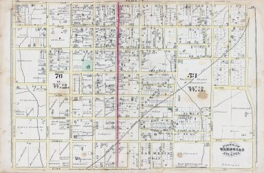 Plate P: Parts of Wards 2 & 3. Atlanta